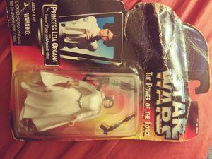 Princess Leia star wars action figure still in original packaging for Sale in Nashville, TN