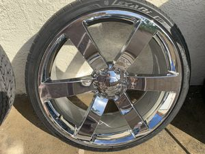 "24"" rims Chevy for Sale in Commerce, CA"