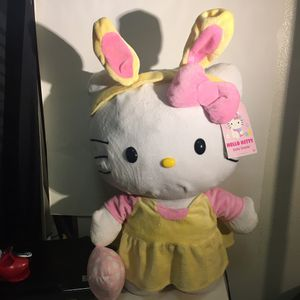 Hello kitty Easter stuffed animal for Sale in Gresham, OR