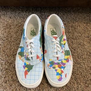 """Men's """"Save Our Planet"""" Vans for Sale in Frankfort, IL"""