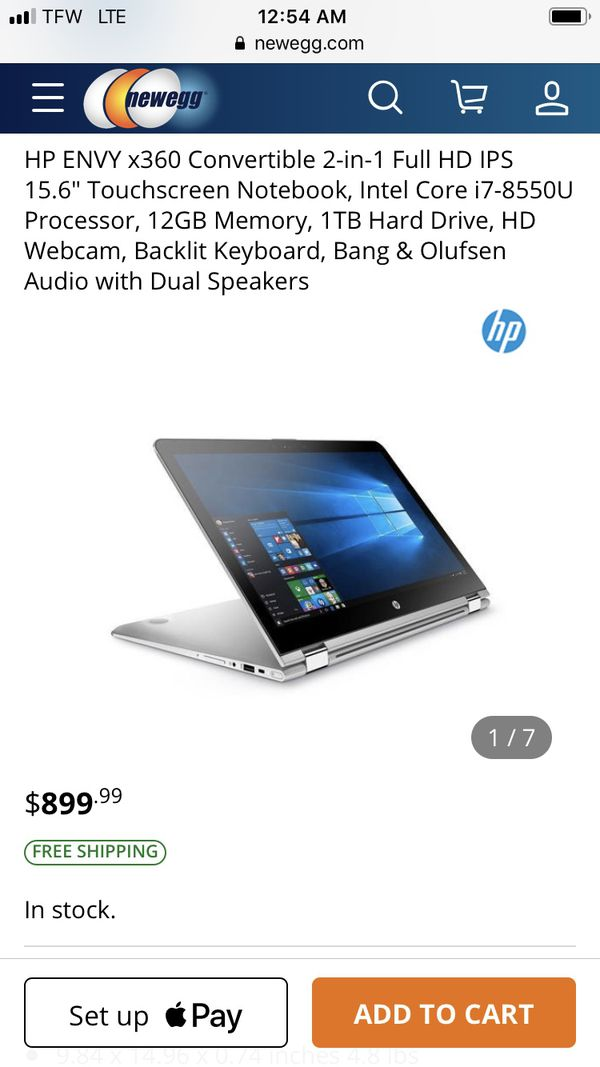 "HP Pavilion 360. 15""inch, Touch Screen.."