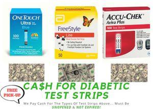 Cash For Diabetic Test Strips for Sale in Reynoldsburg, OH
