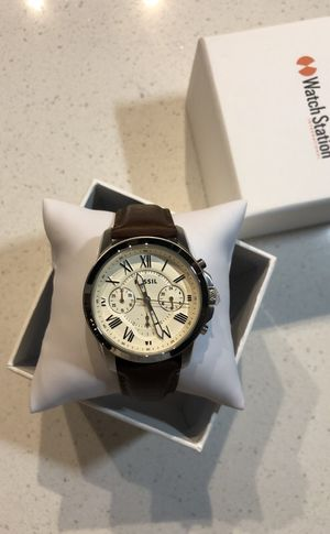 Brand New Fossil Brown Mens Watch for Sale in Orlando, FL