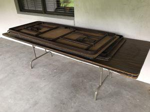 Free folding tables for Sale in Auburndale, FL