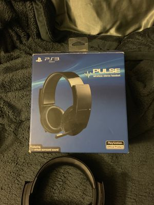 PS3 Pulse Wireless (USB) Stereo Headset for Sale in LEWIS MCCHORD, WA