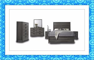 11pc Kate bedroom set free mattress and delivery for Sale in Ashburn, VA