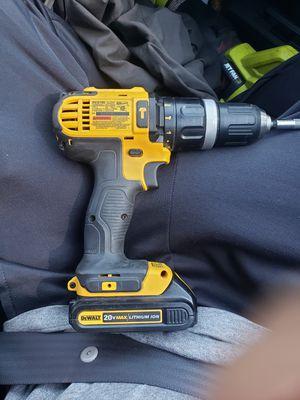 Dewalt 20v drill for Sale in Modesto, CA