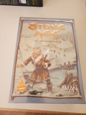 Limited Edition - Stone Age Anniversary board game - NEW! for Sale in Hillsboro, OR