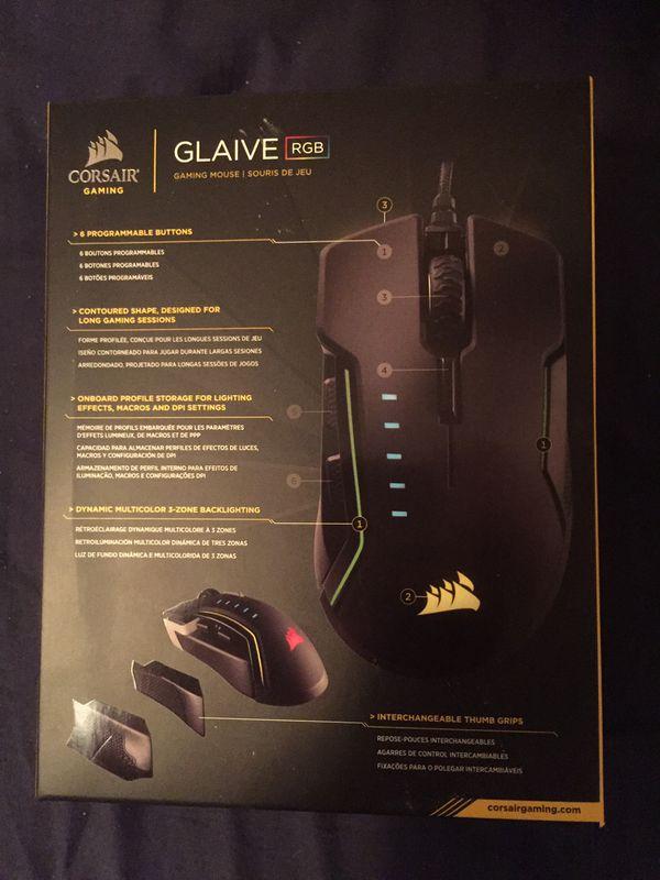 Corsair Glaive Computer Mouse