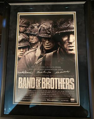 Band of Brothers signed movie poster with COA for Sale in Rockville, MD