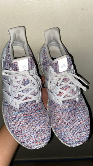 Adidas Ultra Boost 4.0 Multicolor/White Running Shoes for Sale in Long Beach, CA