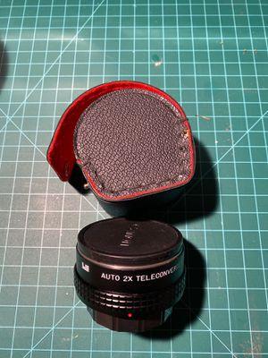 deJur auto 2x converter FD lenses for Sale in Alhambra, CA