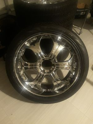 24s Rims and tires for Sale in Torrance, CA