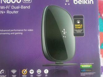 Belkin N600 Wifi DB N+ Router for Sale in Frostproof,  FL