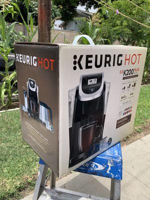 Keurig Hot 2.0 k2000 Plus Series for Sale in Long Beach, CA