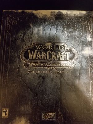 World of war craft Lich king collectors edition for Sale in Los Angeles, CA