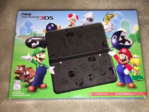 New Nintendo 3DS Super Mario edition (black) for Sale in Oakland, CA