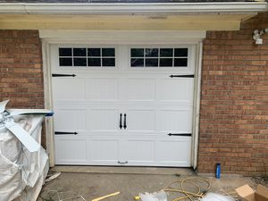9x7 Carriage style garage door for Sale in Morrow, GA