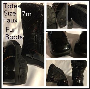 Totes size 7m rainbow boots girls kids for Sale in Raceland, KY
