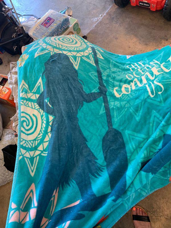 Moana blanket