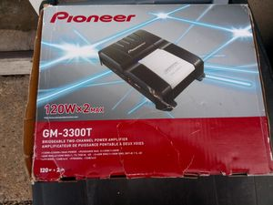 Pioneer amp gm-3300T for Sale in Boston, MA
