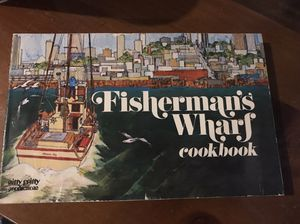 Vintage 1971 Fisherman's Wharf Cook Book San Francisco for Sale in Colorado Springs, CO