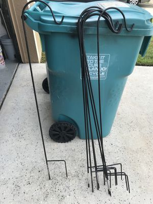 I have 8 In ground plant holders for 45 Dollars for Sale in Orlando, FL