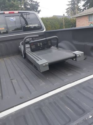 Fold down treadmill for Sale in Tacoma, WA