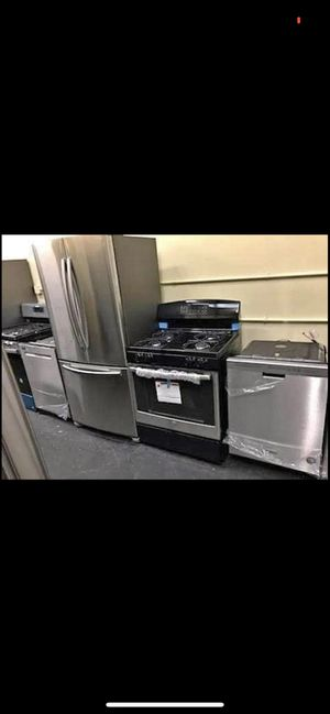 Stainless steel kitchen set for Sale in Red Hill, PA