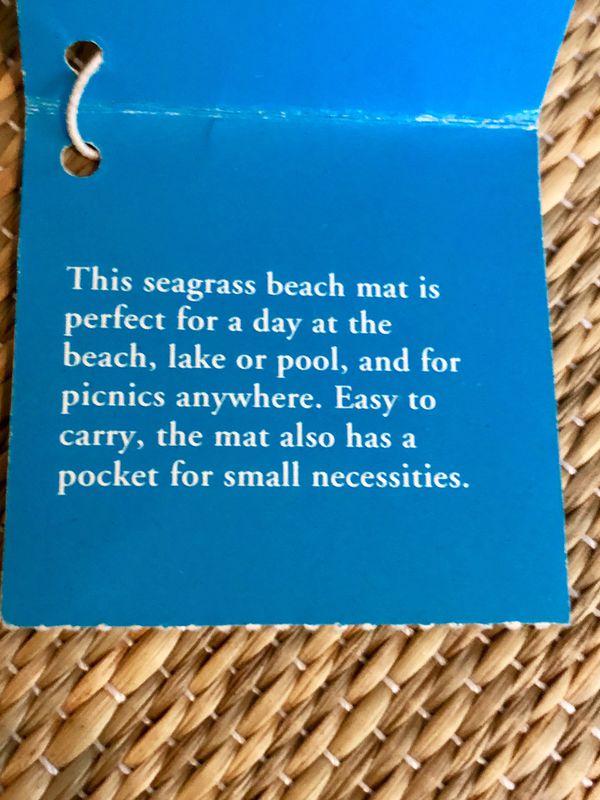 Pier One Beach Mat
