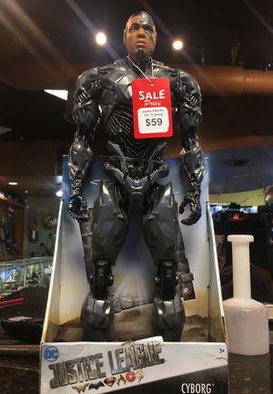 """Jakks Pacific 19"""" Justice League Cyborg Action Figure for Sale in San Antonio, TX"""