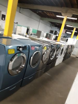 FRONT LOAD WASHER AND DRYER SET WORKING PERFECTLY 4 MONTHS WARRANTY for Sale in Baltimore, MD