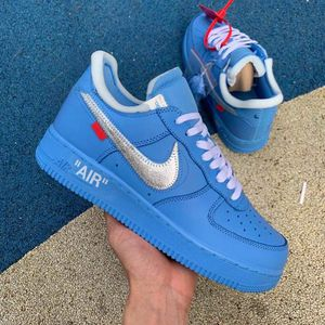Air Force 1 Low Off-White MCA University Blue for Sale in Nashville, TN