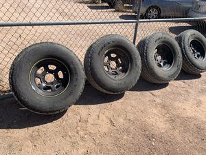 Chevy/GMC 4x4 Wheels and Tires for Sale in Apache Junction, AZ