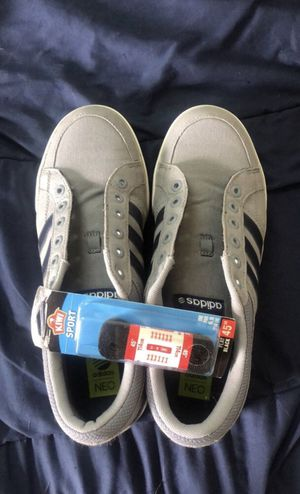 Mens 10.5 Adidas Neo Grey Shoes for Sale in Bexley, OH
