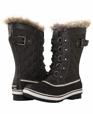 Women's Asymmetrical Mid-Calf Fashion Snow Boots Grey, (New) Size 6 for Sale in Quitman, TX