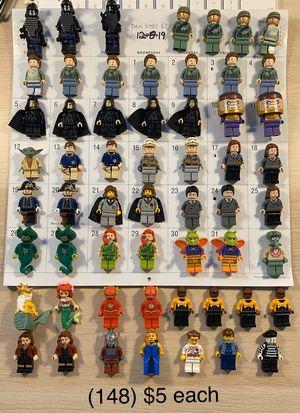 LEGO minifigs!!! (12/9/19) for Sale in Woodbridge, VA