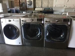 LG Large Capacity front load washer and electric dryer for Sale in San Luis Obispo, CA