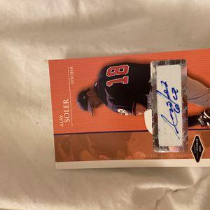 Alay Soler Baseball Card-2016 for Sale in Costa Mesa, CA