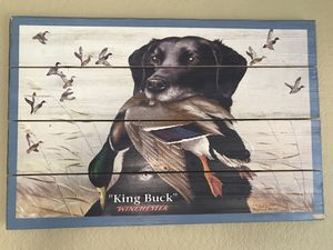"""Hunting puppy painting on wood 16""""x24"""" for Sale in Galt, CA"""