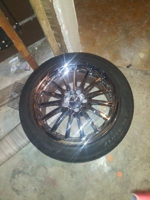 17 in Mercedes rims and tires for Sale in Portland, OR