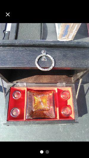 70's Vintage Set Amber Shot & Decanter for Sale in Dillsburg, PA