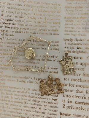 Necklace charm and bracelet for Sale in Pflugerville, TX