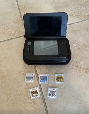 Nintendo 3DS XL Red with 5 games for Sale in Miami, FL