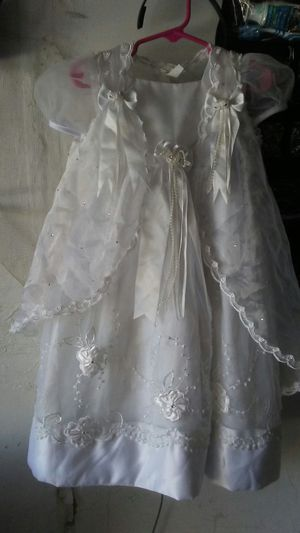 Baby girl baptism dress size2 for Sale in Fresno, CA