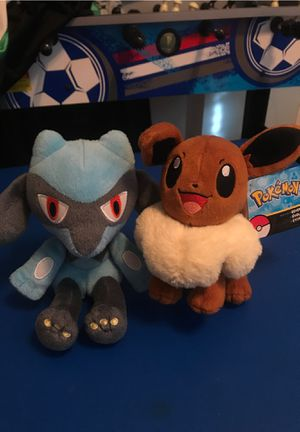 Very high Quality Pokémon stuffed animals for Sale in Lakewood, CA