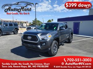 2018 Toyota Tacoma Double Cab for Sale in Las Vegas, NV
