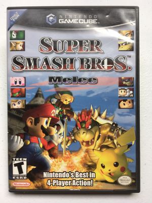 Super Smash Bros. Melee Nintendo GameCube @VGs! for Sale in Austin, TX