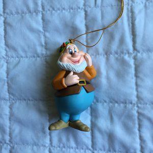 "Disney ""Happy"" dwarf Snow White ornament for Sale in Long Beach, CA"