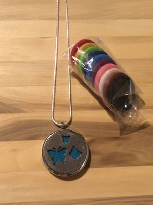 Butterfly Essential Oil Diffuser Necklace for Sale in Lester, WV